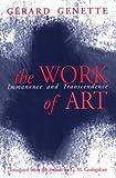 The Work of Art, Gérard Genette, 0801482720