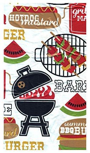 Amazon Com 3 Pc Picnic Table Covers Summertime Cookout Color