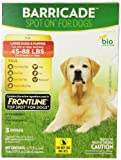 Barricade Spot-On Flea Drops for 45 to 88-Pound Large Dogs by Bio Spot