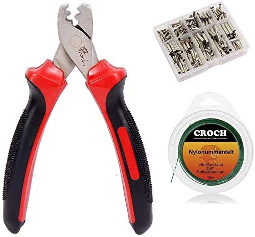 """Calcutta Stainless Steel Crimpers 5.5/"""" Fishing Crimp Tool Free Shipping"""