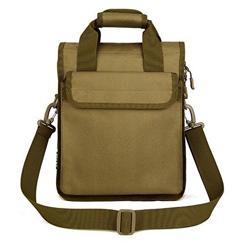 Bolsas de aire libre la bolsa de mensajero de los hombres de Tool Kit Nylon 26 * 34 * 8-12cm , 6 1