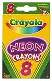 Crayola Neon Crayons, 8 Count