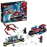 LEGO Rescate en Moto de Spider-Man (76113) Juguete de Construccion para Niños
