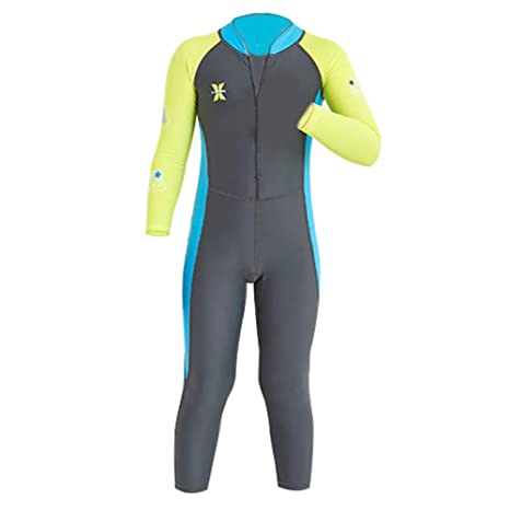 ec1622c76c1 YIFEIKU Co.,Ltd. Kids One Piece Swimsuit Long Sleeves Long Trousers Full Sun  Protection Fast Drying UPF 50+ Body Protection - Surfing Diving Sailing -  Boys ...