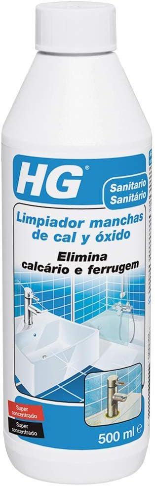HG 100050130 Manchas superconcentrado 500 ml-el Limpiador de Cal y óxido Concentrado más Potente del Mercado: Amazon.es: Bricolaje y herramientas