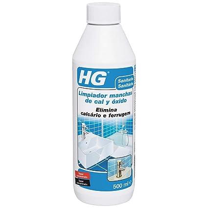 HG 100050130 Manchas superconcentrado 500 ml-el Limpiador de Cal y óxido Concentrado más Potente del Mercado