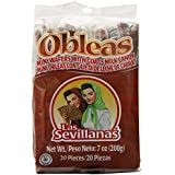 Mini Obleas with Cajeta (20 Delicious Wafers with Goat's Milk Candy)