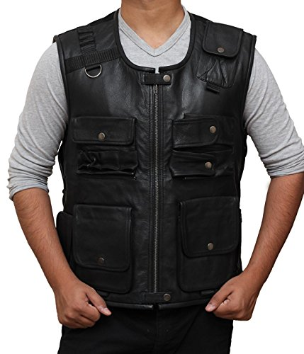 [Roman Reigns Tactical Vest Black Friday Costume Ideas (L, Black)] (Soa Toddler Costume)
