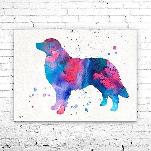Mountain Dog Watercolor - Bernese Mountain Dog 2 Watercolor Print, Bernese Mountain Dog art, dog art, dog print, Home Decor,dog watercolor,animal watercolor,animal art