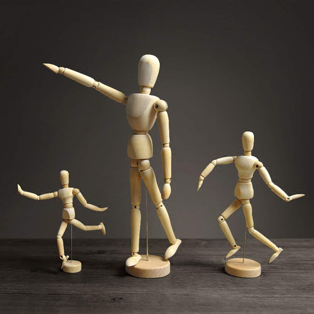 MLQ 3 Piezas de Madera de maniquí para muñecas, Adornos ...