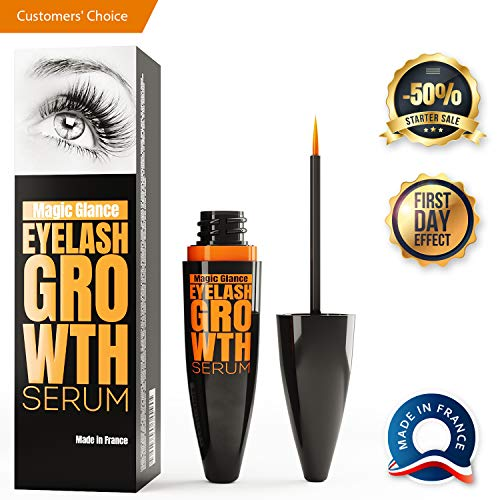 Natural Eyebrow and Eyelash Growth Serum - Boost Enhancer for Full, Long, Thick & Luscious Lashes - Fast Results in 14 Days - Rapid Lash Growth, Healing, Treatment & Care