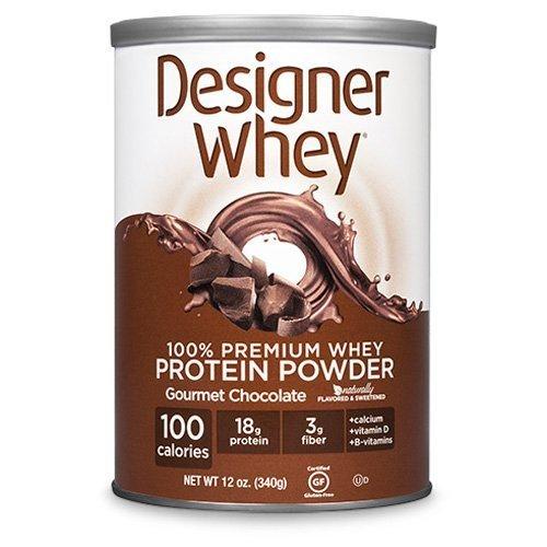 Designer Whey Protein Powder Chocolate - 12.7 oz by Designer Whey ()