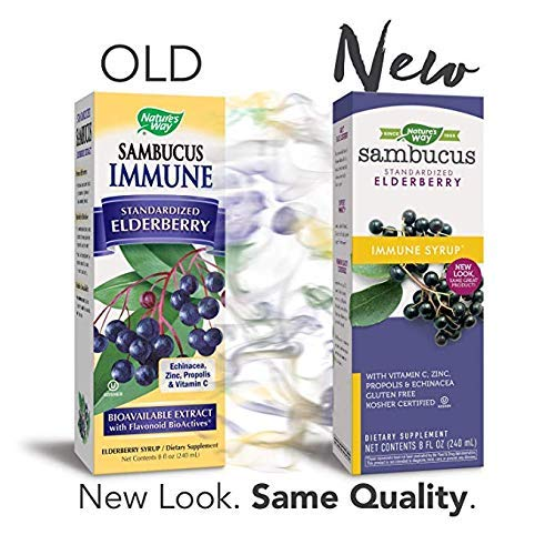 Nature S Way Sambucus Immune Syrup – 8 Ounces Pack Of 2