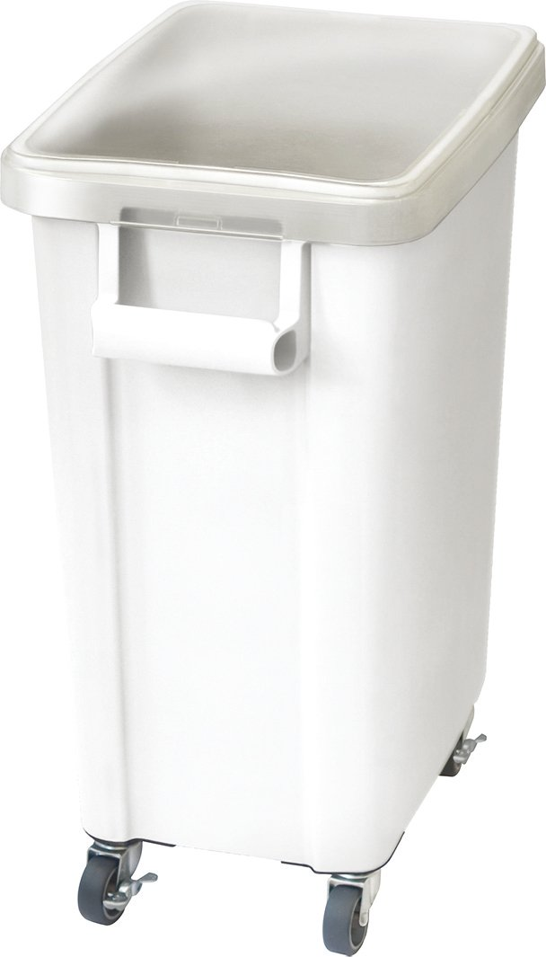 リス 業務用ゴミ箱 材料保管容器 45L パッキン付き ホワイト 16059 B00VSYOF6M45L