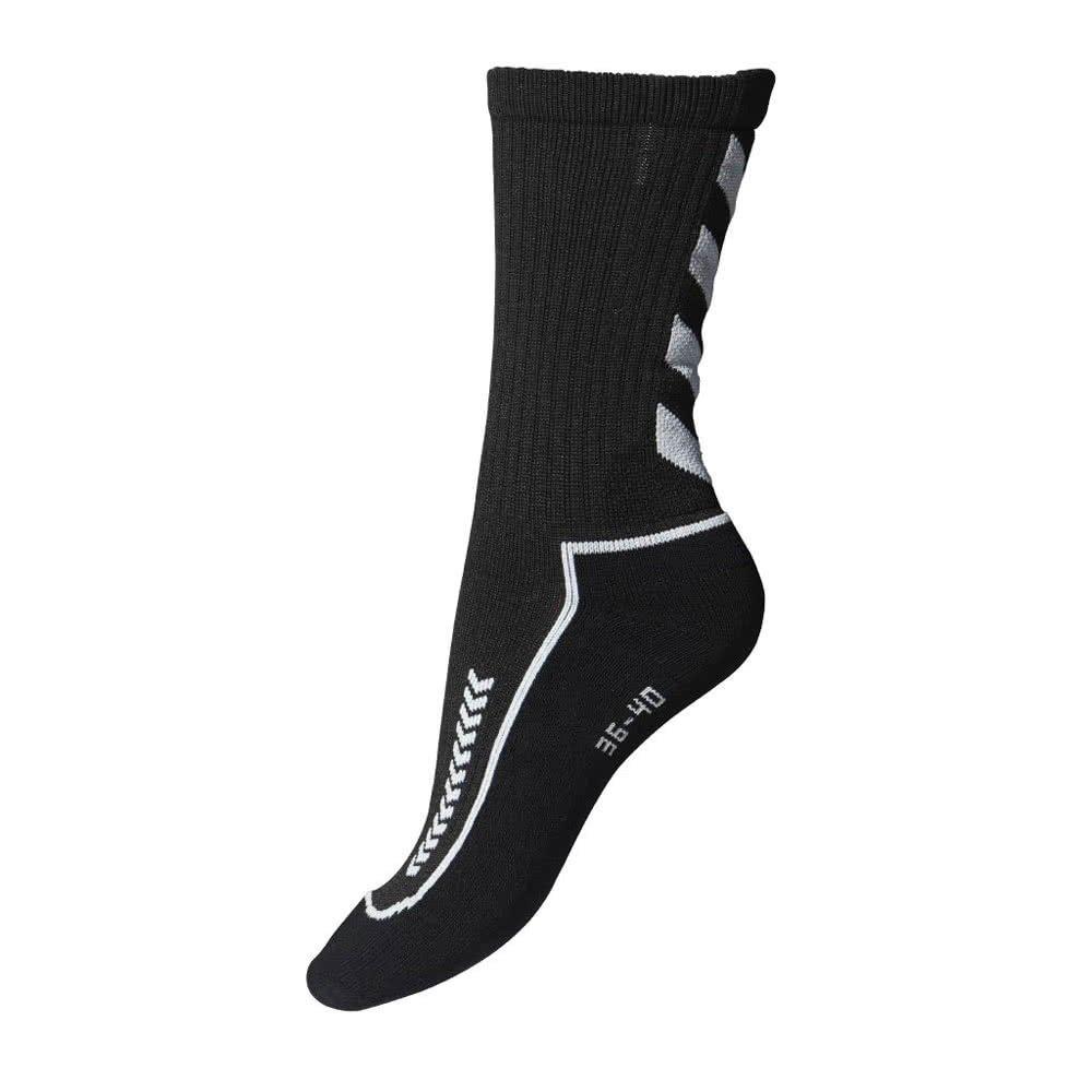 hummel Herren Advanced Indoor Socke schwarz/grau 46-48 (14) 21-058 2408