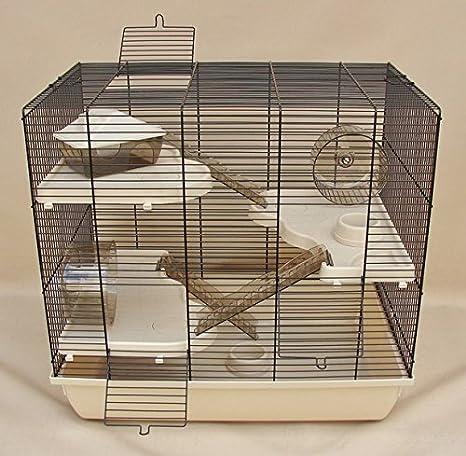 Interzoo Jaula para roedores, Jaula, hámster, Teddy Gigant II ...