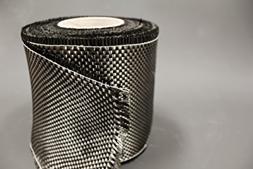 CARBON FIBER - 12K TOW - 164' Roll - High Strength Fabric by RCP USA inc.
