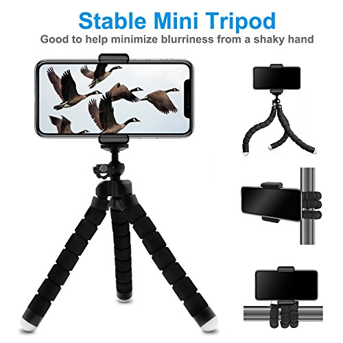 Cell Phone Telephoto Lens, Avanz 2018 Upgraded 18x Zoom Telephoto Lens with Mini Tripod & Universal Clip & Phone Holder, Zoom Lens for iPhone X/8/7/6S/SE, Samsung, iPad, Smartphones by Avanz (Image #1)