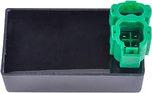 Radiator Fan Control Unit Switch For Honda TRX 400 Fourtrax Foreman FW 1995-2003 | TRX 450 Fourtrax Foreman ES 1998-2001 | FE/FM 2002-2004 | S 1998-2001 OEM Repl.# 38710-HM7-004