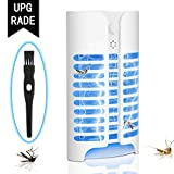 Luledio Electric Indoor Bug Zapper, Mosquito Killer, Insect and Fly Zapper Catcher Killer Trap with UV Night Sensor Light for Home, Office and Patio Indoor Use