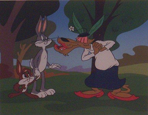 Bugs Bunny in Rabbit's Kin Warner Bros. Artwork. Ltd. Run Mini Print Custom Matted to 8