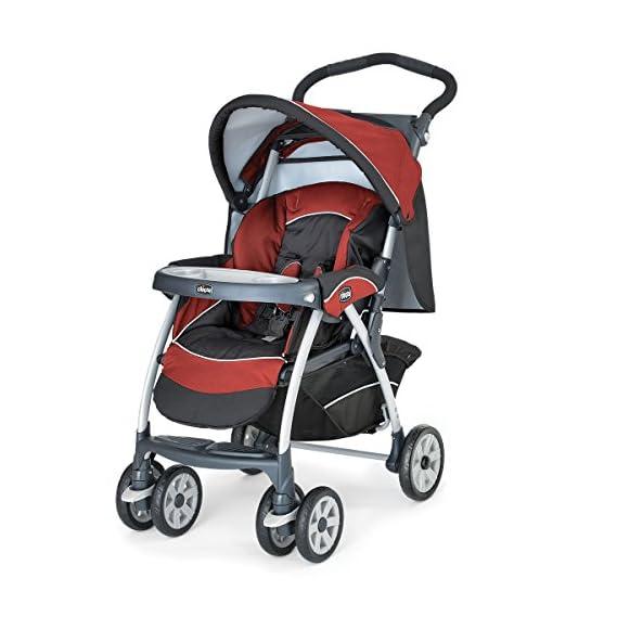 Chicco Cortina Stroller Element USA (Dark Red/Grey)
