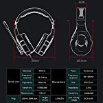 Cuffia-Gaming-con-Microfono-LED-Luce-Regolatore-di-Volume-Cuffie-da-Gioco-con-Stereo-Bass-Gaming-Headset-per-PS4-PC-Xbox-One-S-Nintendo