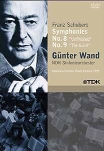 Gunter Wand: Franz Schubert - Symphonies Nos. 8 & 9 [Import]