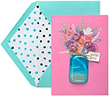 American Greetings Premier Mean the World Mother's Day Card for Wife with Rhinestones