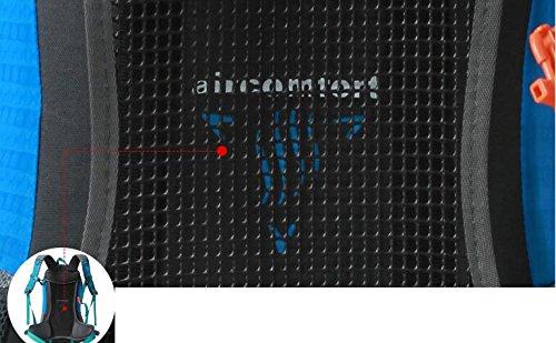 All'aperto gli uomini e le donne del sacchetto di alpinismo tracolla trekking impermeabile borsa da viaggio zaino ( colore : Blu , dimensioni : 35L )