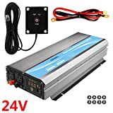 GIANDEL 3000W Power Inverter 24V DC to 120V AC with 20A Solar Charge