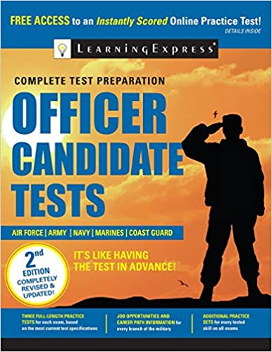 Amazon officer candidate tests 9781611030839 learning officer candidate tests 2nd edition fandeluxe Gallery