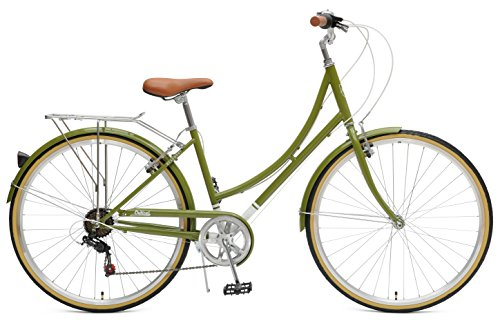 Critical Cycles Beaumont-7 Seven Speed Ladys Urban City Commuter Bike