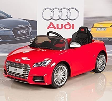 Amazon Com Big Toys Direct Audi Tts 12v Kids Ride On Battery