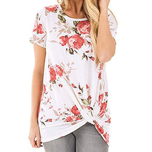 Blouses for Women Fashion Blouses for Women Plus Size Blouses for Women Elegant Long Blouse for Women Work Casual Tops Women Sweatshirt Women (S,5- White)