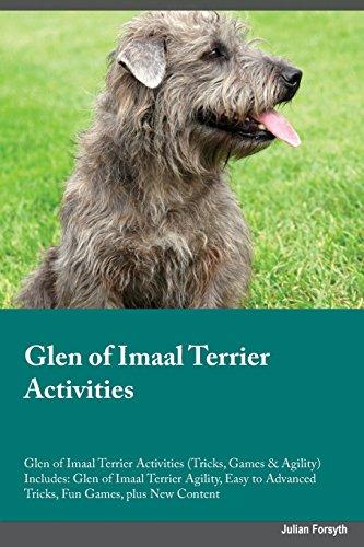Glen of Imaal Terrier Activities Glen of Imaal Terrier Activities (Tricks, Games & Agility) Includes: Glen of Imaal Terrier Agility, Easy to Advanced Tricks, Fun Games, plus New Content