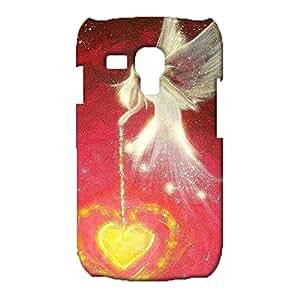 Samsung Galaxy S3 Mini Case,Wonderful Angel Pattern Series Premium Exquisite 3D Slim Durable Phone Cover for Samsung Galaxy S3 Mini