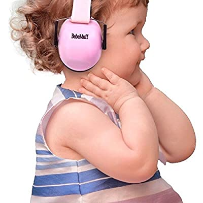 BEBE Muff Hearing Protection - BEST USA Certified Ear Muffs, 2 years+