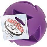 Soft-Flex Best Clutch Ball Dog Toy, 4.5-inch Grape