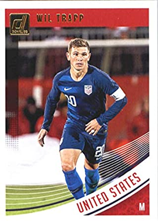 7c04b2fec Image Unavailable. Image not available for. Color  2018-19 Panini Donruss  Soccer  172 Wil Trapp United ...
