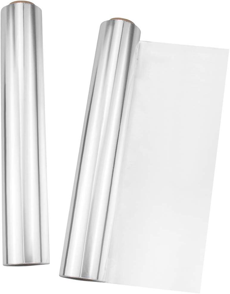 Kingrol 386 Square Feet Heavy Duty Aluminum Foil Roll, Food Safe Foil Wrap