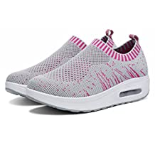 Womens Casual Outdoor Slip-On Mesh Shoes Walking Fashion Sneaker,Running Shoes