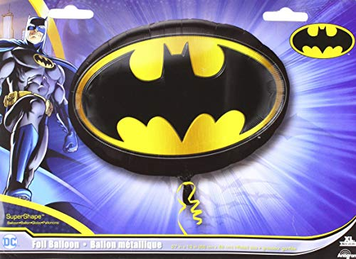 Anagram 29657 Batman Emblem Supershape Foil Balloon, 27