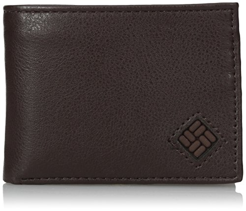Columbia Leather Capacity Slimfold Wallet
