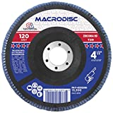 Continental Abrasives F-4531209H 4 1/2-Inch by 7/8-Inch High Density/Jumbo Type 29 Flap Discs