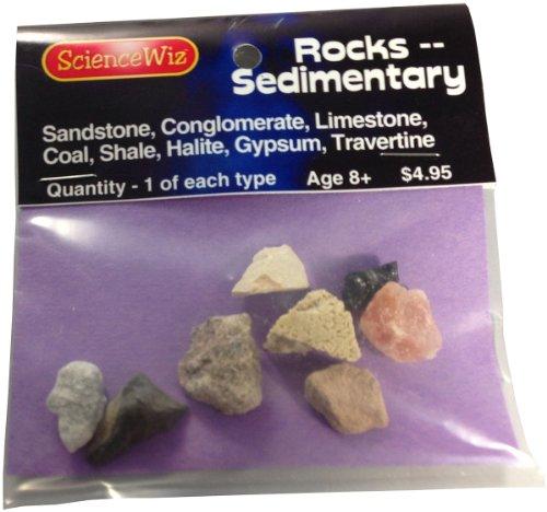 ScienceWiz - Sedimentary Rock Samples (Rocks Travertine)