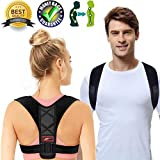 """Posture Corrector for Women Men Posture Brace Orthopedic Posture Corrector Relieves Upper Back Shoulders Pain Corrects Slouching Hunching Bad Posture Adjustable (Posture Corrector, 26"""" - 46"""")"""