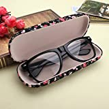 Protable Floral Sunglasses Hard Eye Glasses Case Eyewear Review and Comparison