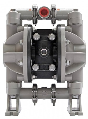 ARO 666053-344 Polypropylene PTFE Single Double Diaphragm Pump, 13 gpm, 100 psi
