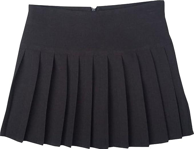 Girls Children Kids Ladies Pleated Back to School Britini Back Zip Uniform Skirt